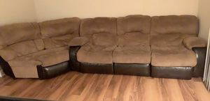 Color Brown couches for Sale in Alexandria, VA