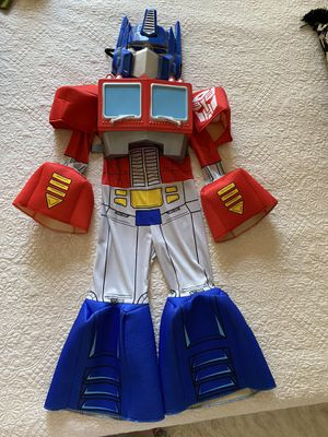 """""""Optimus Prime"""" 3-D Halloween Kids Costume - size S(4-6) for Sale in Hollywood, CA"""