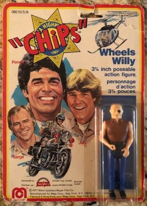 "1977 Mego CHiPs Wheels Willy 3.75"" Action Figure for Sale in Laguna Hills, CA"