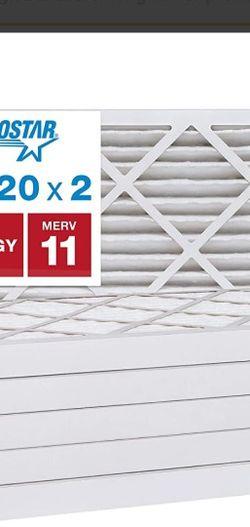 Aerostar Merv 11 Air Filters 16x20x2 3 Total for Sale in Elk Grove,  CA
