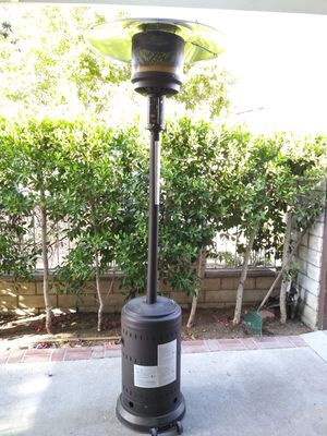 LIKE NEW OUT PATIO HEATER USED ONLY 3 MONTHS WORKS PERFECTLY FIRE SENSE,IF SOMEBODY INTERESTED PLEASE TEXT ME ANY TIME HABLO ESPAÑOL for Sale in Los Angeles, CA