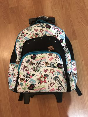 Rolling Backpack/ Book bag for Sale in Miami, FL