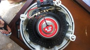 """1000 series 6.5"""" in ceiling speaker model ms1650 50watt with a hundred rms retail store pool deck legend series for Sale in South Daytona, FL"""
