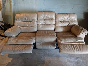Faux Leather Couch for Sale in San Francisco, CA