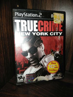 True Crime New York City - PS2 for Sale in Olympia, WA