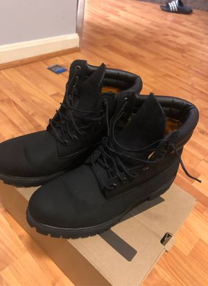 Black Timberland Boots size 10.5 for Sale in Odenton, MD