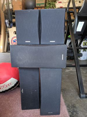 Onkyo speakers and receiver for Sale in Fresno, CA