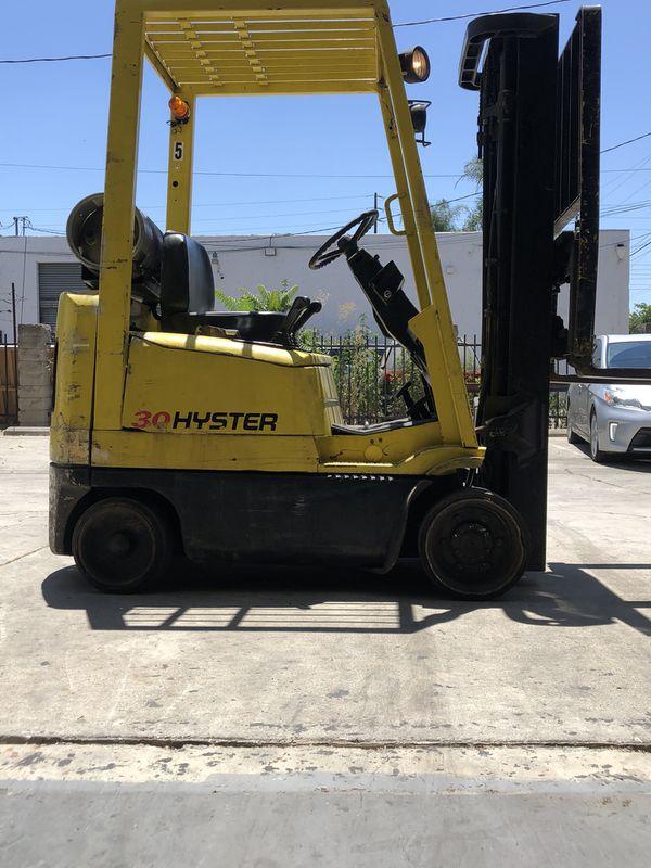 Forklift Hyster S30XM, 3000 LB