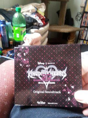 Kingdom Hearts 3D Dream Drop Distance Soundtrack for Sale in Williamsport, PA