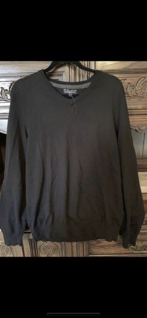 Men's medium black long sleeve knit sweater for Sale in Port St. Lucie, FL
