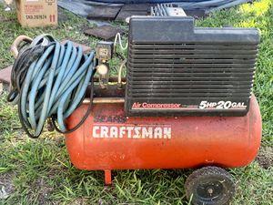 Craftsman 5HP 20 gal air compressor for Sale in Miami, FL