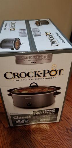Brand New !!!Crock-pot 7quart for Sale in Trenton,  NJ
