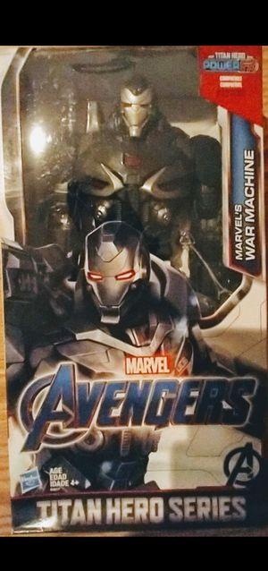 New Avengers 12 Inch WAR MACHINE Action Figure. for Sale in Apopka, FL