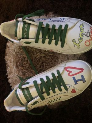 Dolce gabbana love forever tennis shoes , for Sale in Washington, DC