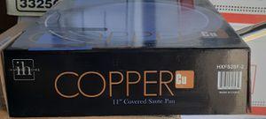 "Copper 11"" Covered Saute Pan Non Stick for Sale in Beaumont, CA"