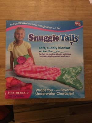 Snuggie Tails soft cuddly blanket for Sale in Alhambra, CA