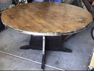 Big heavy duty dark wood table for Sale in Phoenix, AZ