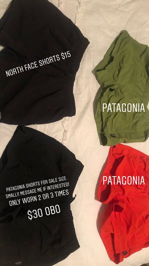 Patagonia shorts and 1 pair of North Face shorts for Sale in Mount Juliet, TN