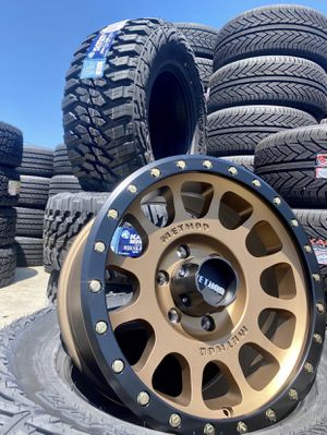 """17"""" METHOD Off-Road Wheel & Tire ✅ 17"""" Method NV 305 Bronze Wheels ✅ 33x12.50R17 Kanati MT Tires Package Deal ONLY $1499 ( Limited Time Offer ) for Sale in La Habra, CA"""