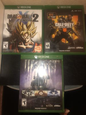 Xbox ones Games for Sale in Victorville, CA