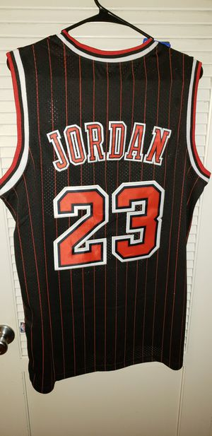 Men's Large Michael Jordan Chicago Bulls Jersey New with Tags Stiched Nike $45. Ships +$3. Pick up in West Covina for Sale in West Covina, CA
