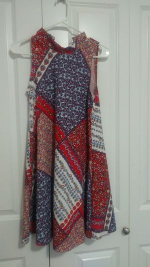 Colorful Semi-Turtleneck Dress for Sale in BETHEL, WA