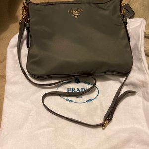Preload Prada Cross Body Bag Medium Size Sling Authentic No Sign Of Use Good Quality Good Condition Inside Very Clean The Hardware Are Clean for Sale in Miami, FL