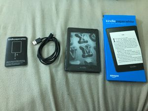 Amazon Kindle Paperwhite 10th gen Waterproof 32GB Free 4G LTE + Wi-Fi Without special offers Latest Version for Sale in Hillsboro, OR
