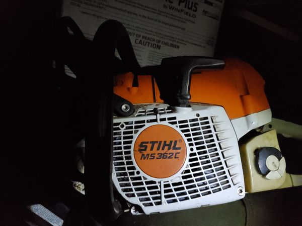 Stihl MS 362 gas powered chainsaw