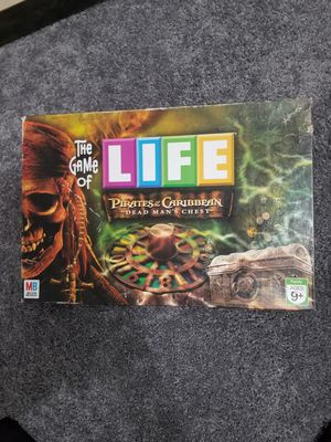 Game of Life Pirates of the Caribbean Game for Sale in East Norriton, PA
