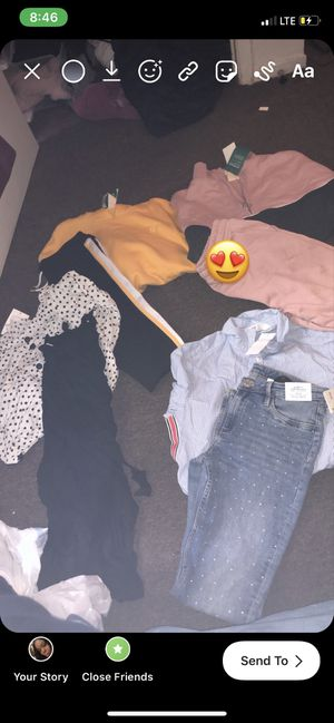 Brand new h&m girl clothes kids 12/13 for Sale in San Francisco, CA