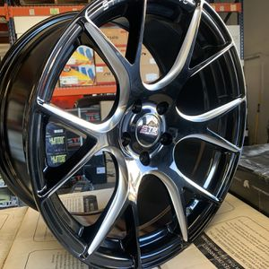18x8.5 5x112 Flow Forged BLACK FRIDAY NOW for Sale in Las Vegas, NV