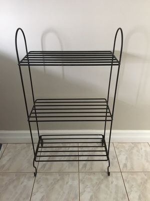 Wrought iron shelf for Sale in Toms River, NJ