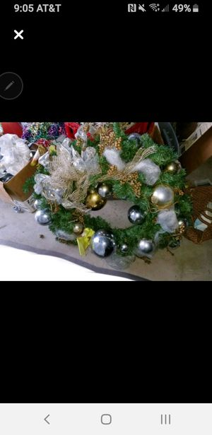 CHRISTMAS wreath 24 inch for Sale in League City, TX