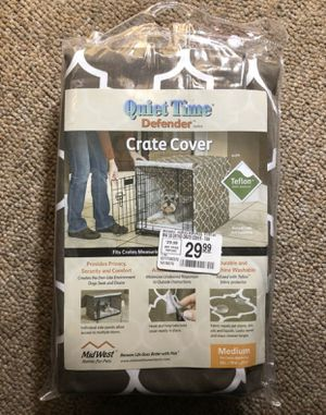 Crate Cover with Teflon fabric protector... See sizes and dimensions below for Sale in Southborough, MA