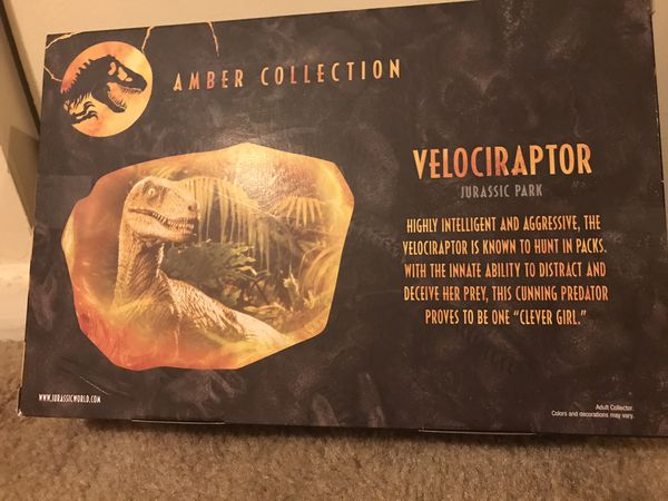 2 amber collection Jurassic park set still available for pick up in Gaithersburg md20877