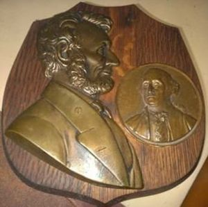 Rare Lincoln Plaque for Sale in Westfield, ME