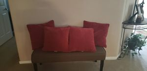 Burgandy pillows for Sale in Pearland, TX