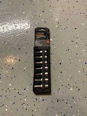 """Husky standard socket set 3/8"""" for Sale in Las Vegas, NV"""
