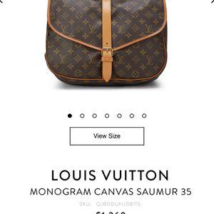 Louis Vuitton Saumur Messenger Bag for Sale in Humble, TX