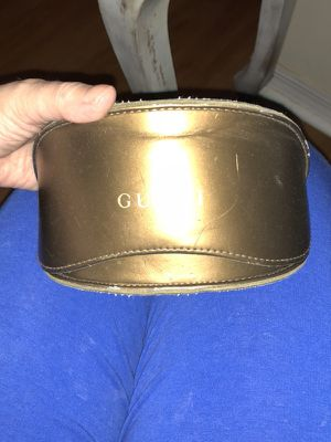 Leather Gucci sunglass case gorgeous!! for Sale in Miami, FL