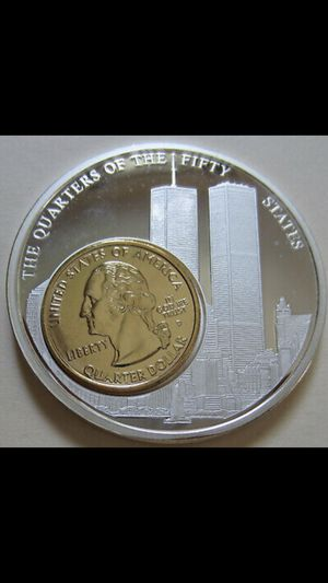 Quarters of Fifty States First Strike 2oz .999 Fine Silver for Sale in Evansville, IN
