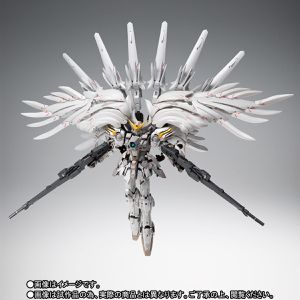 Wing Gundam Snow White Prelude Metal Composite for Sale in West Orange, NJ