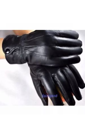 New Cowhide Gloves with button for Sale in Alexandria, VA