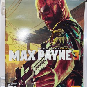 Max Payne PS3 Game for Sale in Fountain, CO