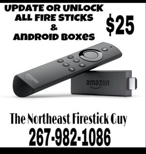 Fire TV stick and Android box updates and repairs for Sale in Philadelphia, PA