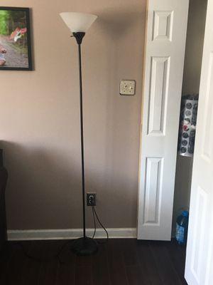 Black floor lamp for Sale in Bensalem, PA