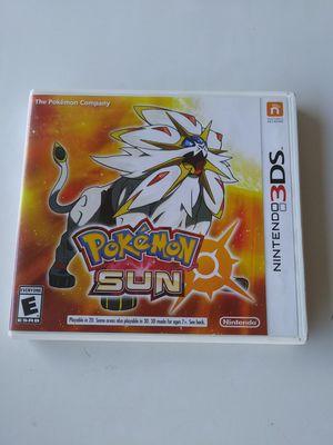 Pokemon Sun nintendo 3ds game for Sale in Riverside, CA