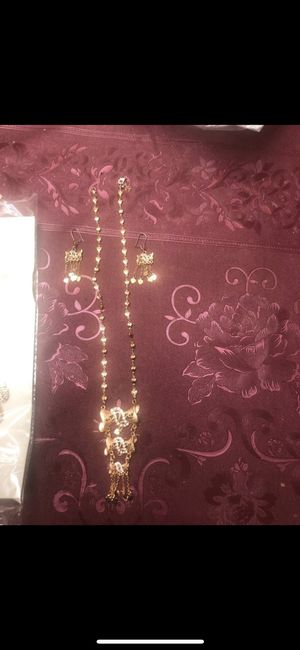 Gold plated necklace for Sale in Manassas, VA