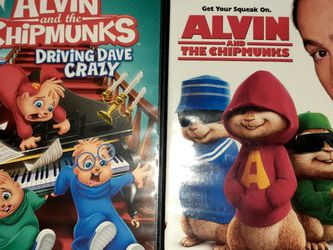 Alvin and the Chipmunk DVDs (2) for Sale in Orlando,  FL